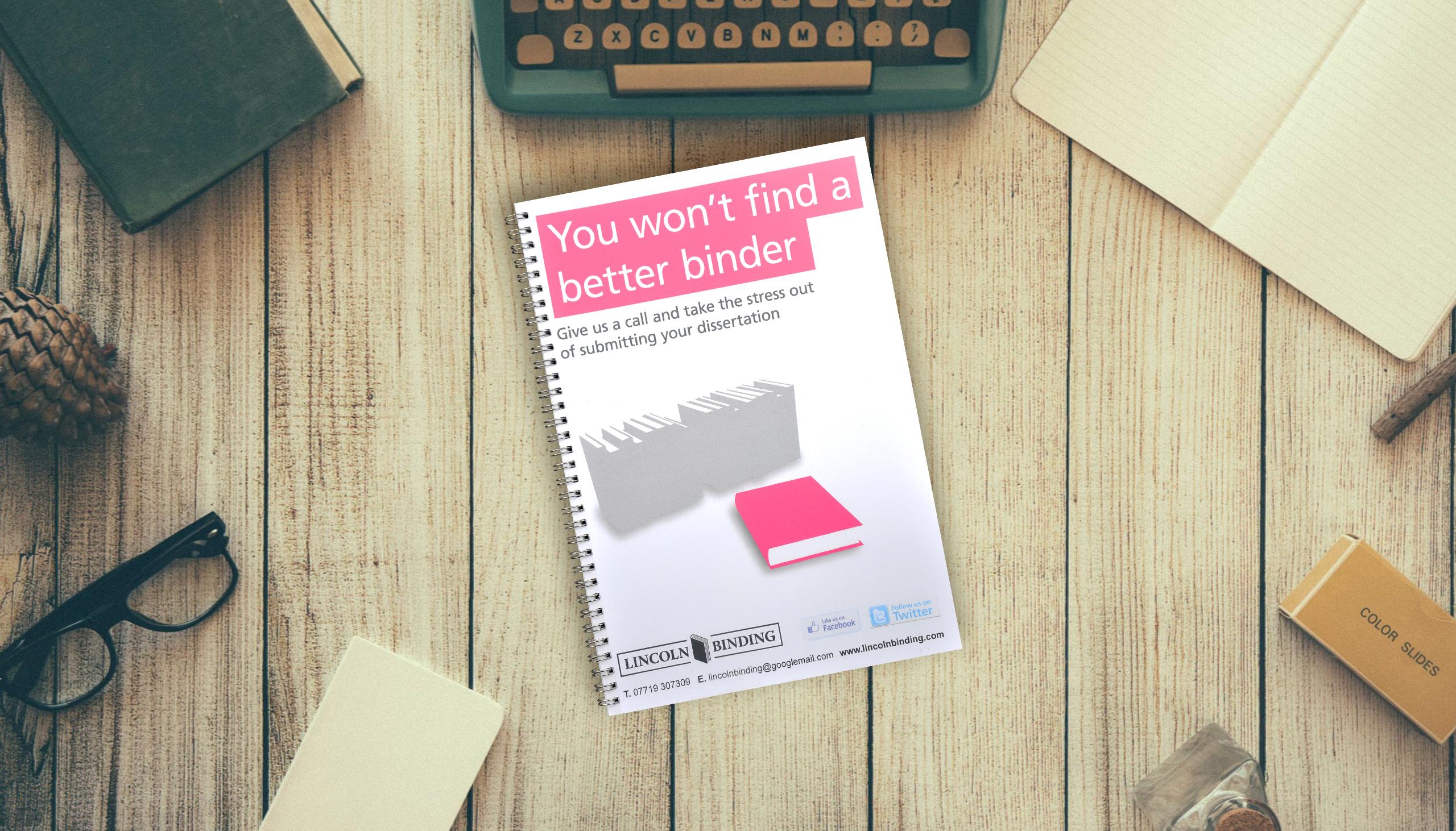 ulu thesis binding